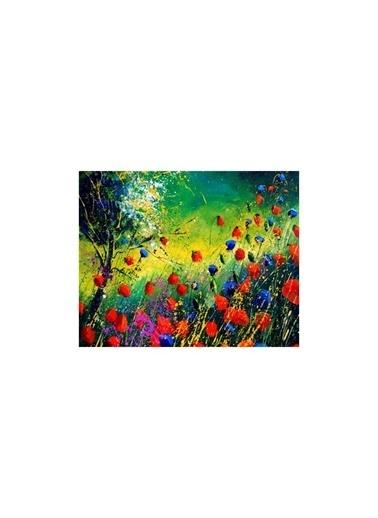 Artikel Wet Flowers 2 Parça Kanvas Tablo 80X100 Cm Renkli